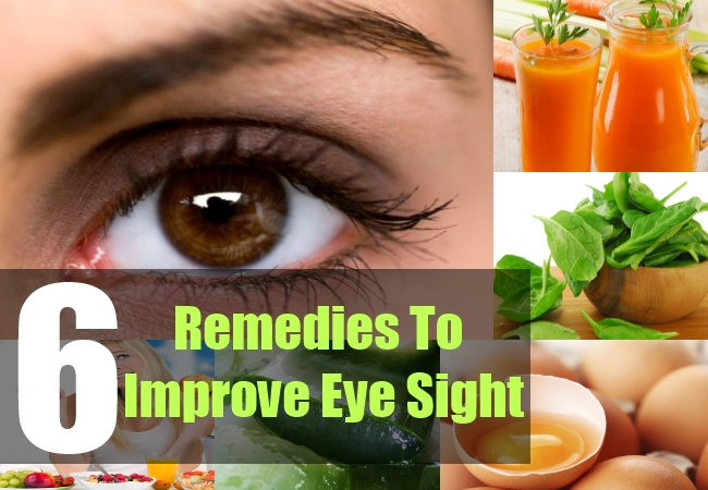 6 Remedies To Improve Your Eye Sight