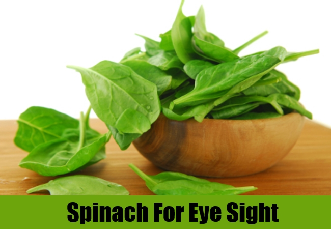 Spinach For Eye Sight
