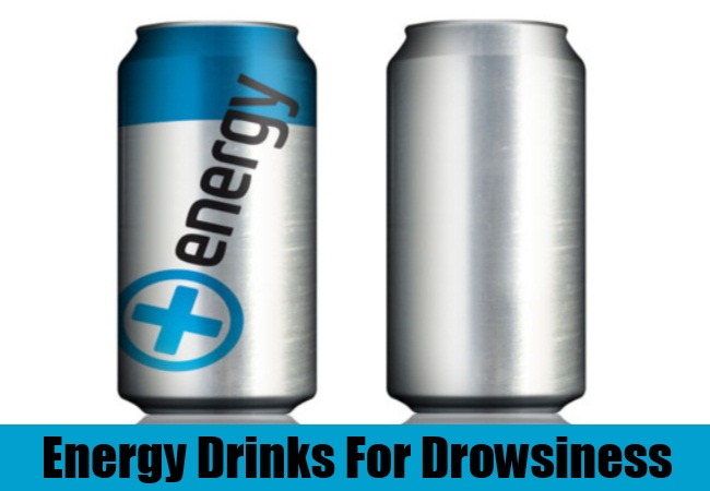 Energy Drinks For Drowsiness