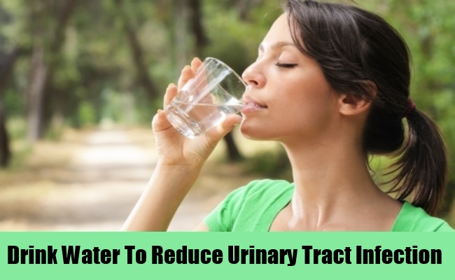 Drink Water To Reduce Urinary Tract Infection