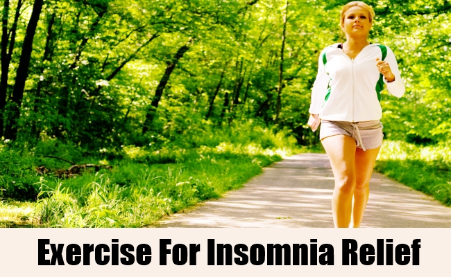 Exercise For Insomnia Relief