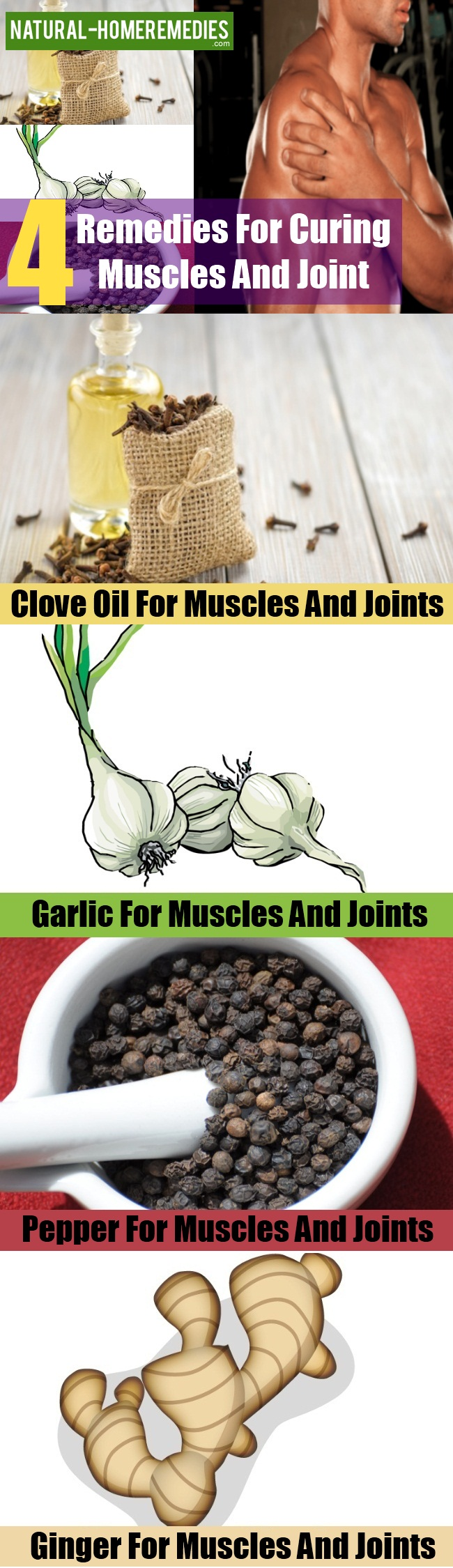 Remedies For Curing Muscles And Joint
