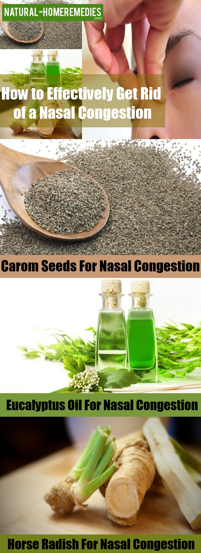 Get Rid of a Nasal Congestion