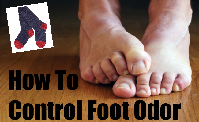 How To Control Foot Odor