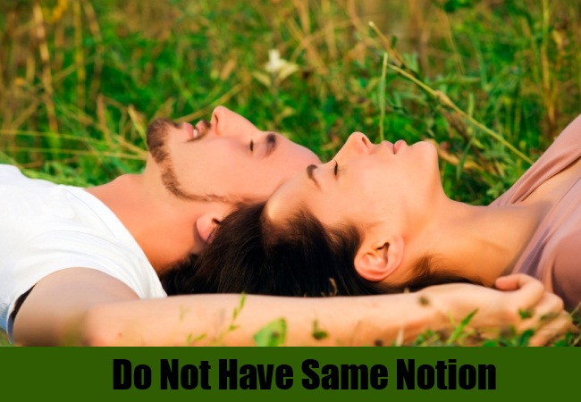 Do Not Have Same Notion
