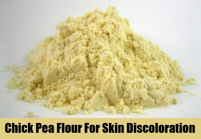 Chick Pea Flour For Skin Discoloration