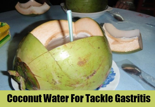 Coconut Water For Tackle Gastritis