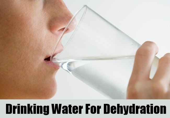Drinking Water For Dehydration