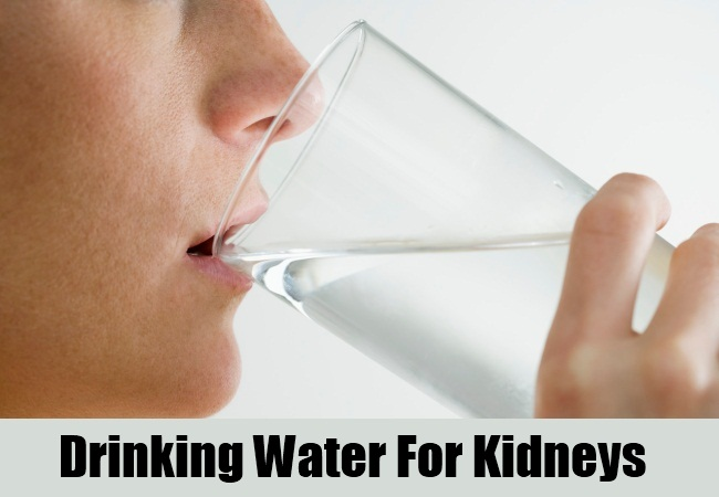 Drinking Water For Kidneys