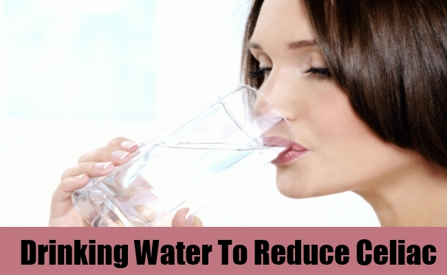 Drinking Water To Reduce Celiac
