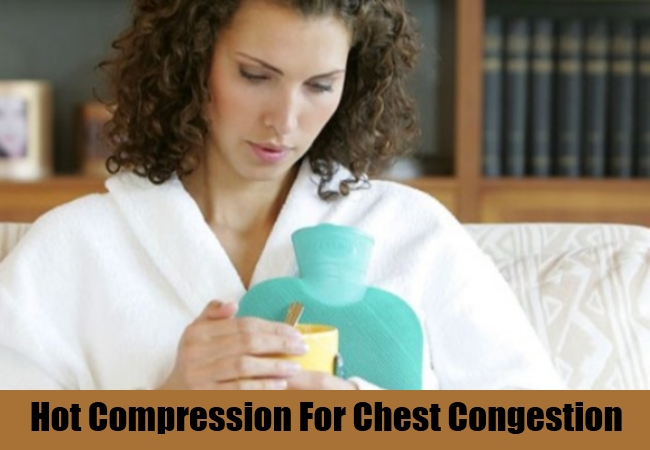 Hot Compression For Chest Congestion