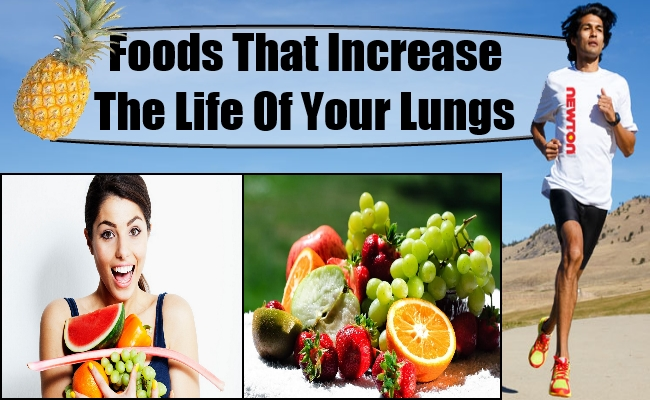 Foods that Increase the Life of Your Lungs