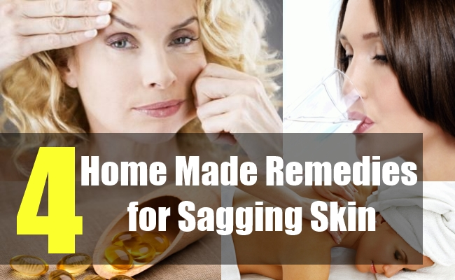 4 Home Made Remedies for Sagging Skin