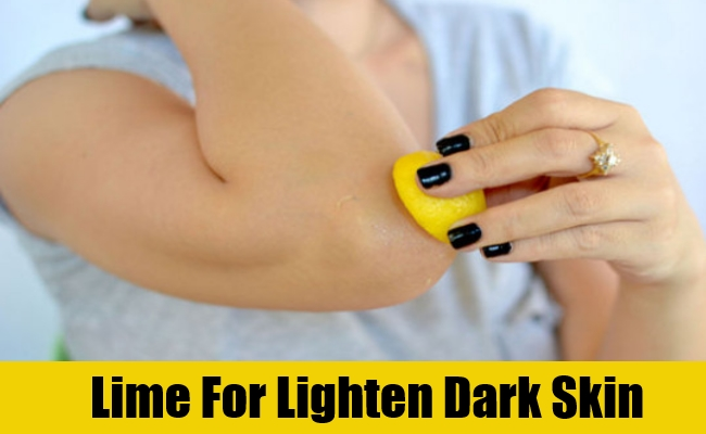 Lime For Lighten Dark Skin