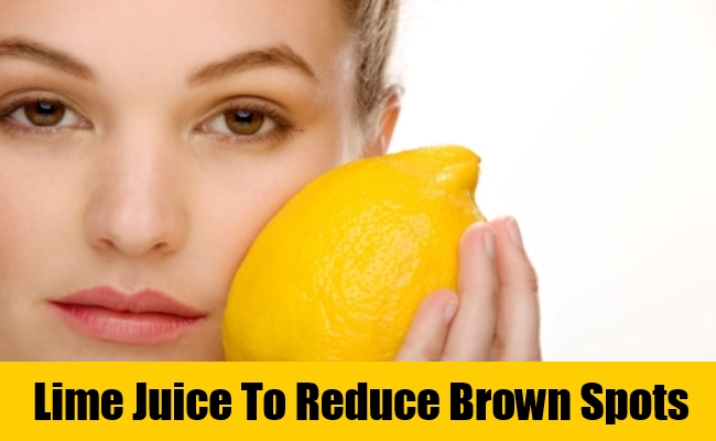how to get brown spots off your face