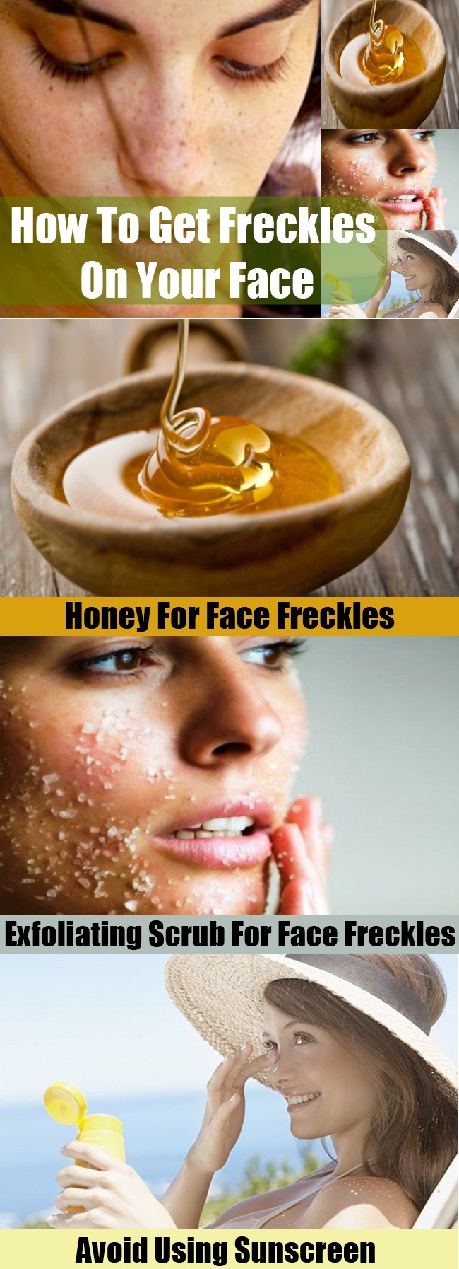 Get Freckles On Your Face