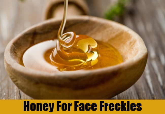 Honey For Face Freckles