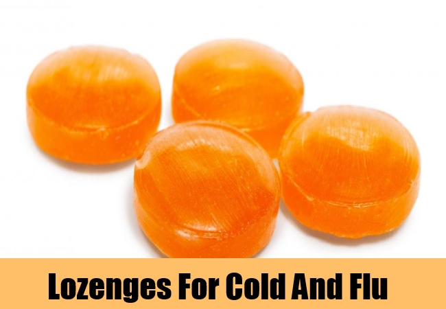 Lozenges For Cold And Flu