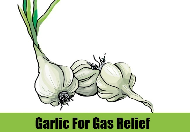 Garlic For Gas Relief