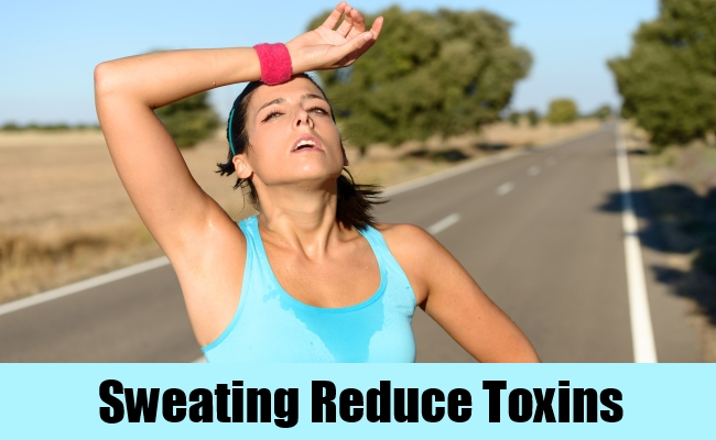 Sweating Reduce Toxins