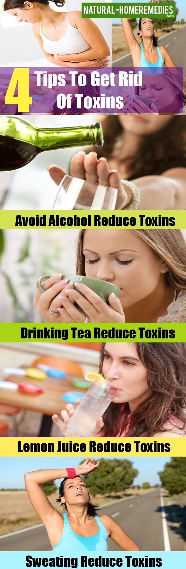 Tips To Get Rid Of Toxins
