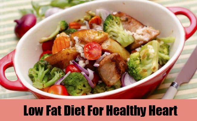 Low Fat Diet For Healthy Heart