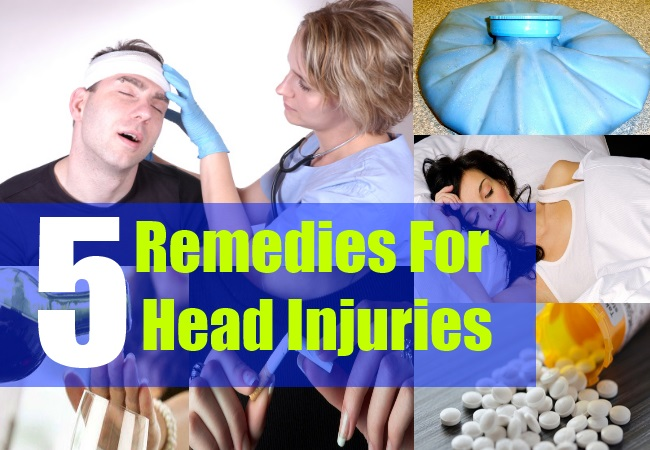 5 Remedies For Head Injuries