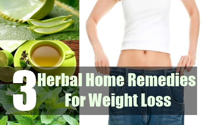 3 Herbal Home Remedies For Weight Loss