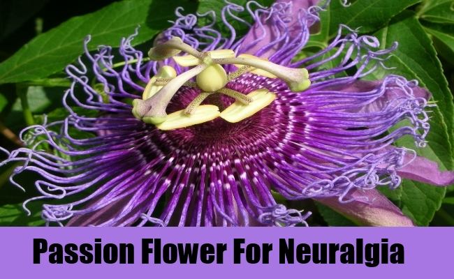 Passion Flower For Neuralgia