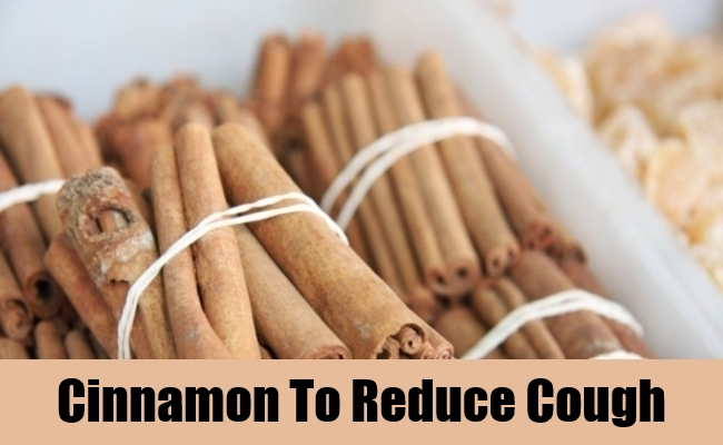 Cinnamon To Reduce Cough