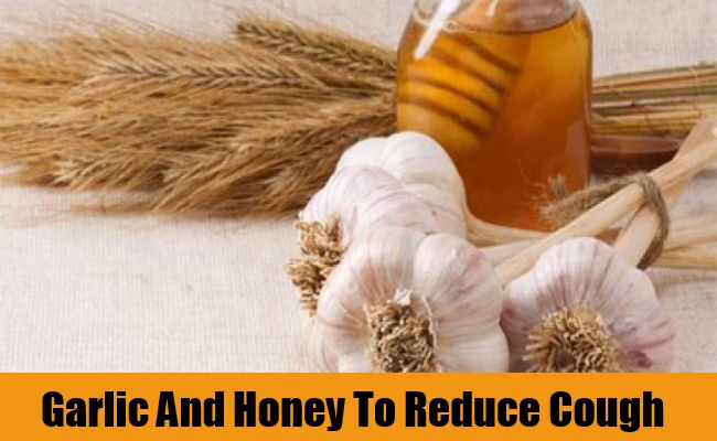 Garlic And Honey To Reduce Cough
