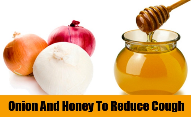 Onion And Honey To Reduce Cough