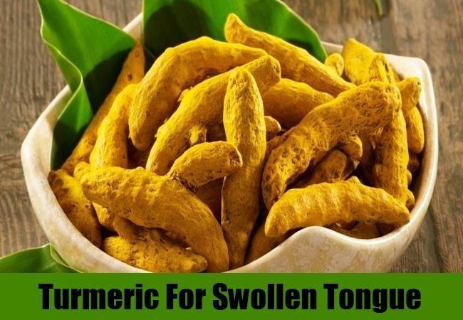 Turmeric For Swollen Tongue