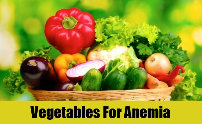 Vegetables For Anemia