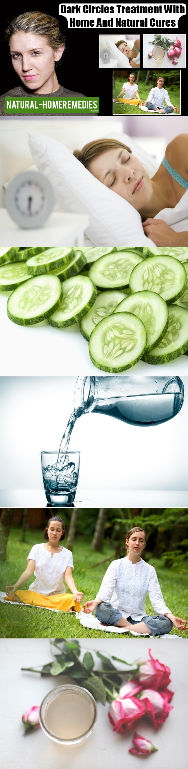 Dark Circles Treatment With Home And Natural Cures