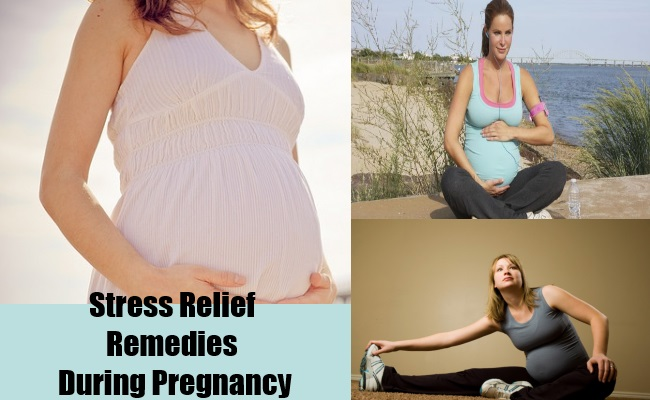 Stress Relief Remedies During Pregnancy