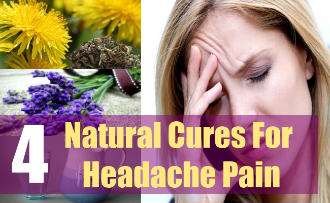 4 Natural Cures For Headache Pain