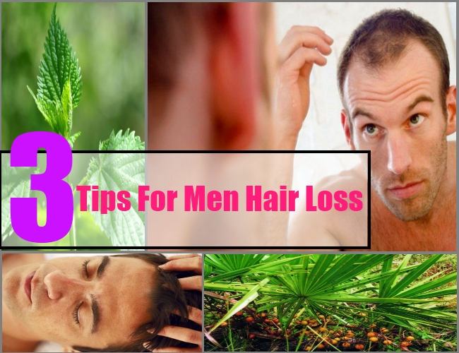 3 Tips For Men Hair Loss