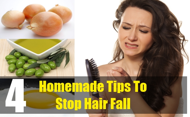 4 Homemade Tips To Stop Hair Fall