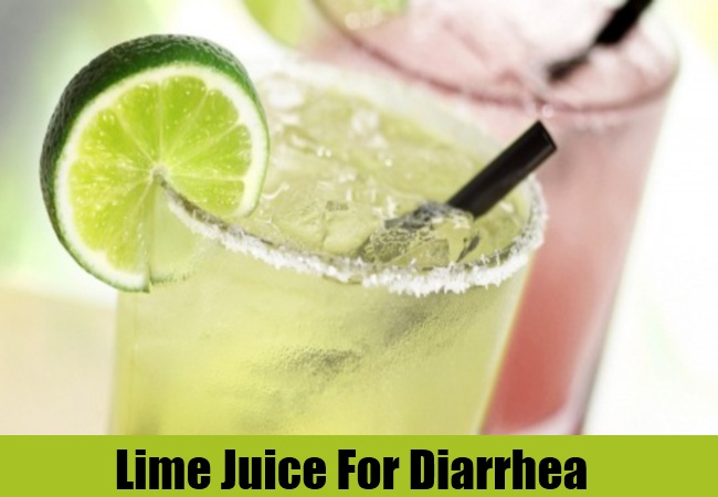 Lime Juice For Diarrhea