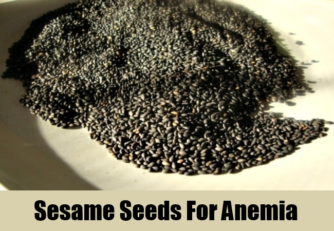 Sesame Seeds For Anemia