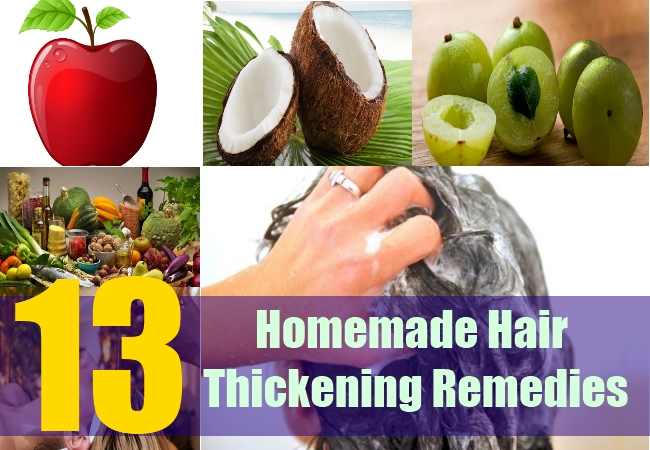 13 Homemade Hair Thickening Remedies