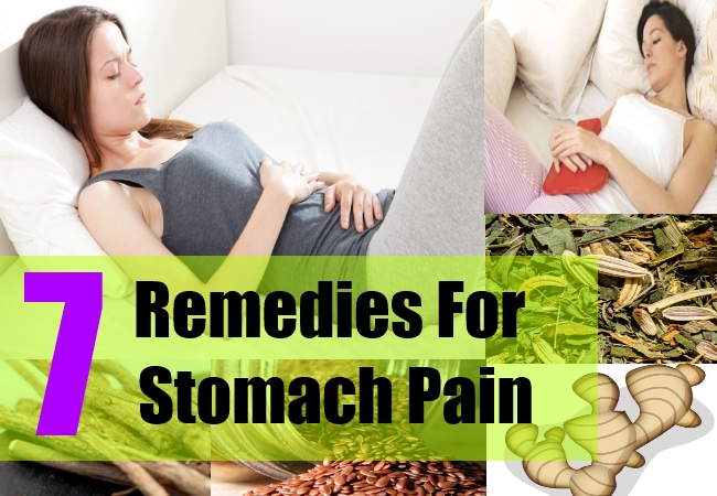 7 Remedies For Stomach Pain