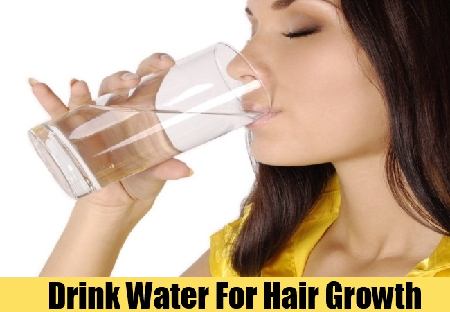 Drink Water For Hair Growth