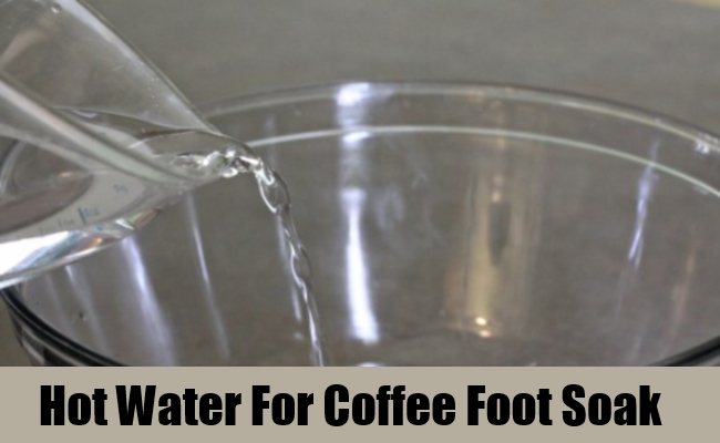 Hot Water For Coffee Foot Soak