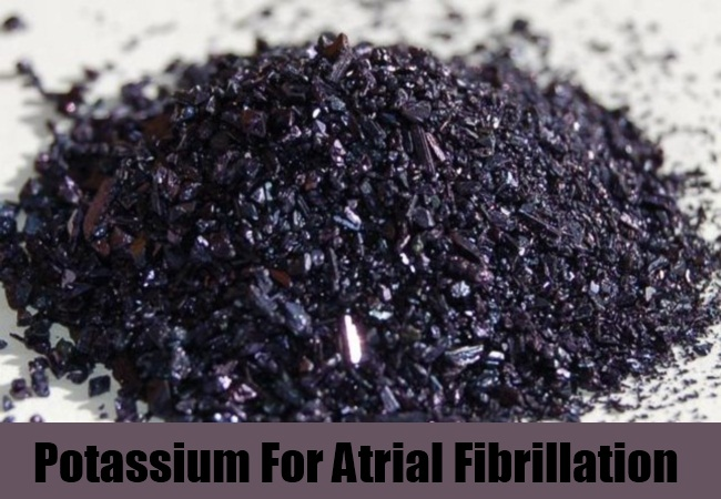 Potassium For Atrial Fibrillation