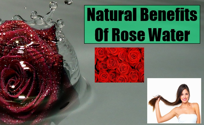 Rose Water benefit