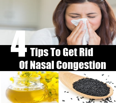 How To Get Rid Of Nasal Congestion Naturally
