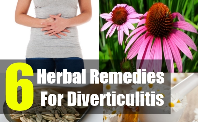 6 Herbal Cures For Treatment Of Diverticulitis