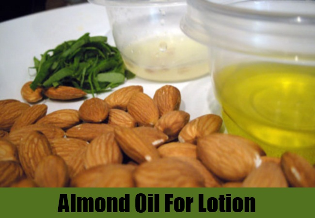 Almond Oil For Lotion